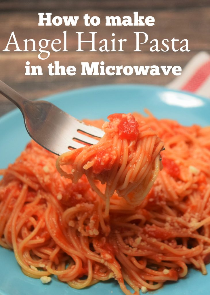 How to make Angel Hair Pasta in the no time in the microwave!
