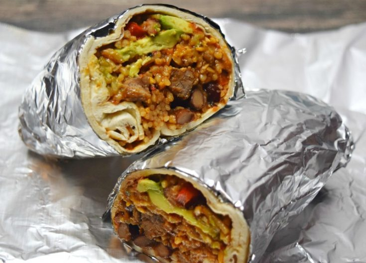 Easy Steak Burrito Recipe