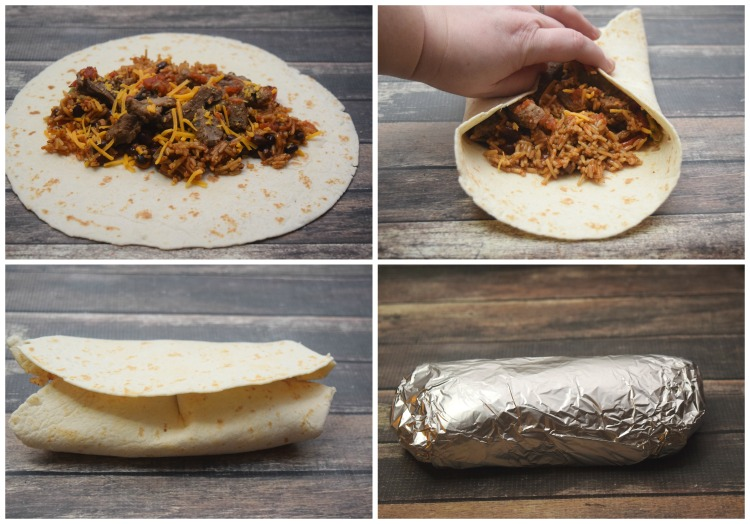How to make a Burrito