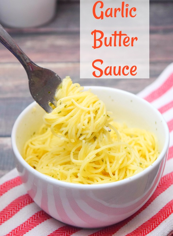 This garlic butter sauce has a secret ingredient that makes it absolutely delicious!