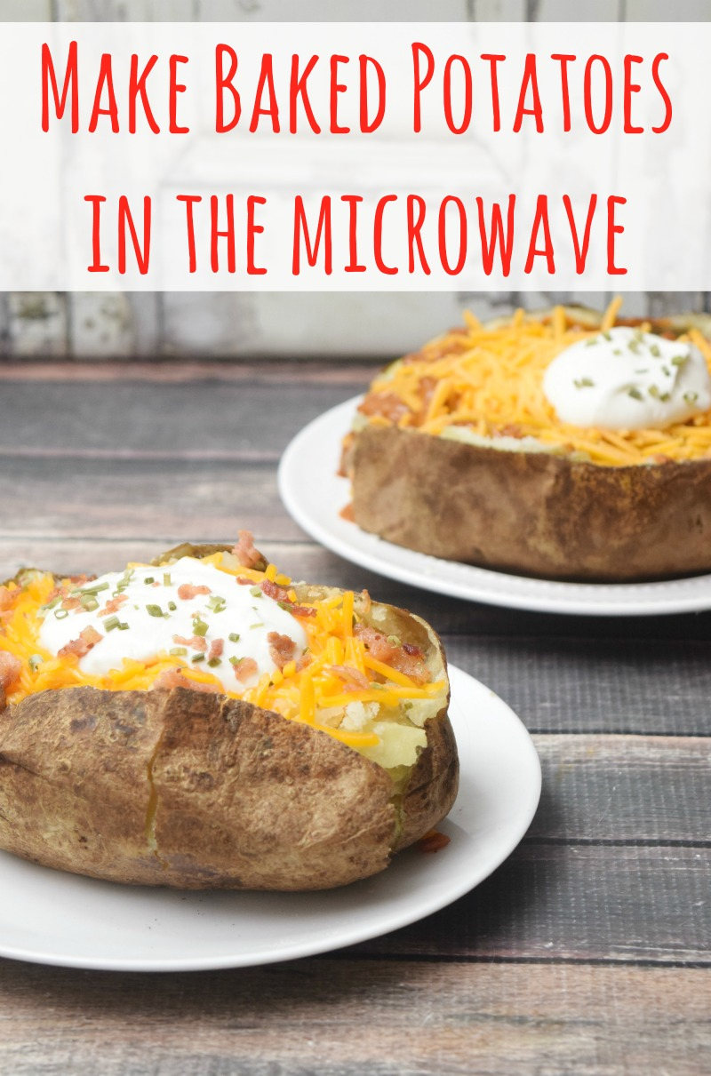 Make Baked Potatoes in the Microwave