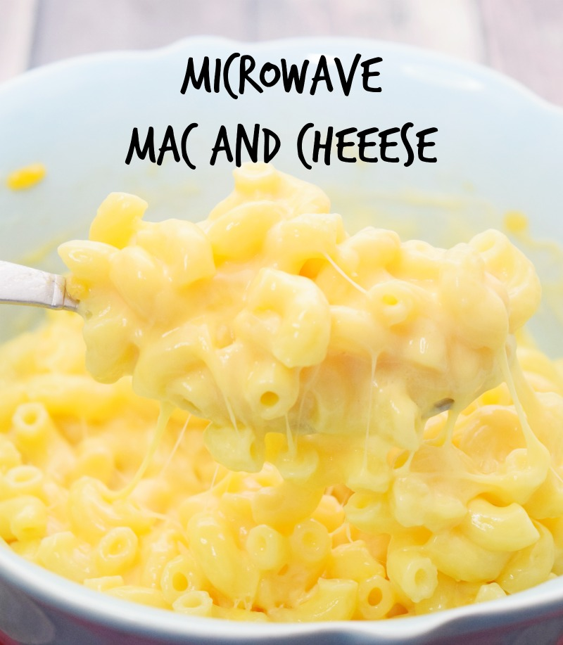 How to make Homemade, Made from Scratch Mac and Cheese in the Microwave.