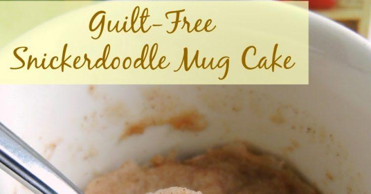 Guilt-Free Snickerdoodle Mug Cake