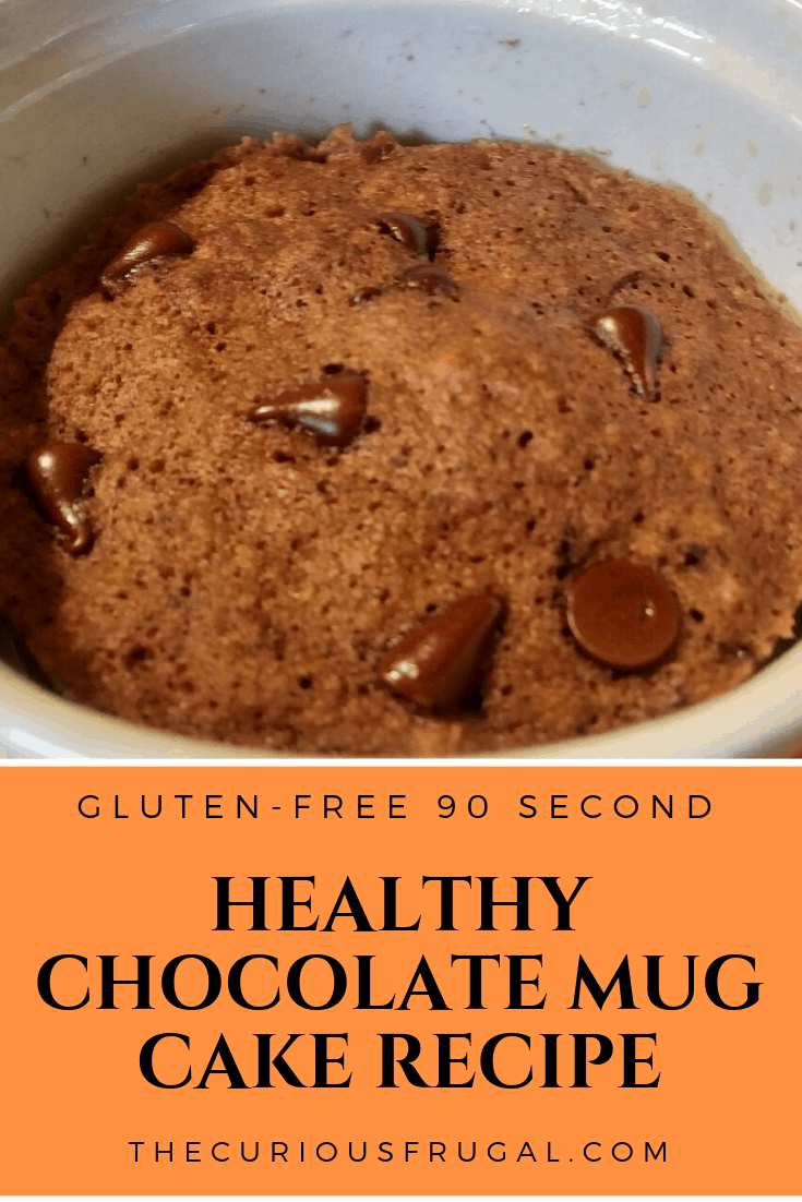 Healthy chocolate mug cake recipe