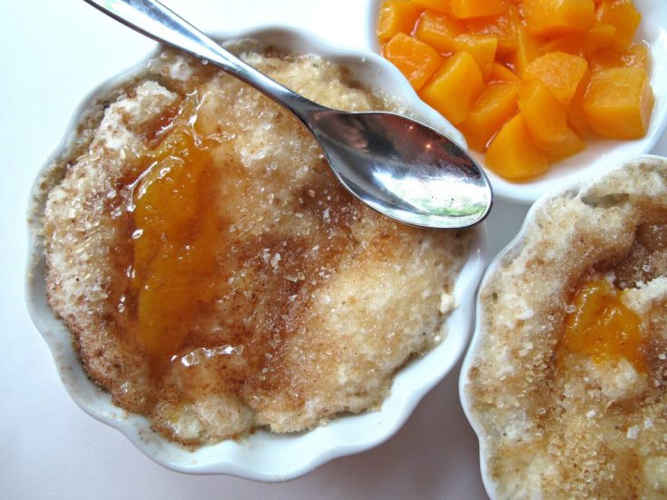 3-2-1 Peach Cobbler - The Monday Box