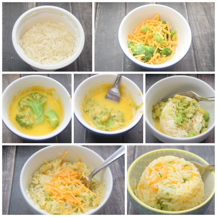 Check out this simple visual instruction on how to make this recipe super quick.