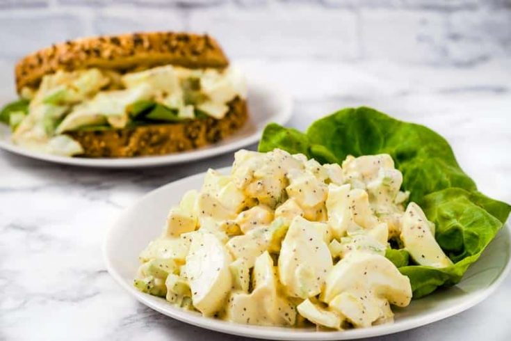 Best Classic Egg Salad Sandwiches Recipe for Two
