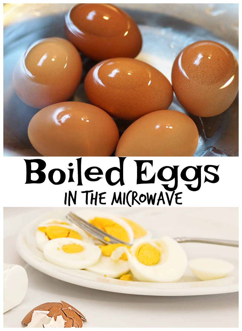 How to boil eggs in the microwave
