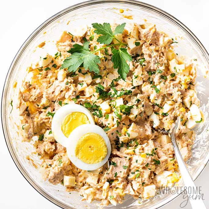 Tuna Egg Salad Recipe