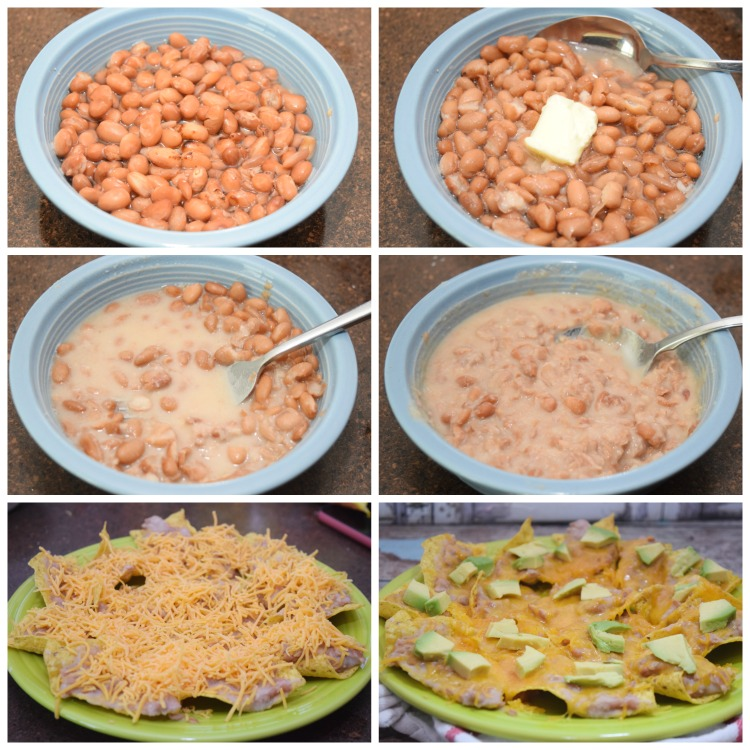 How to make Microwave Refried Beans