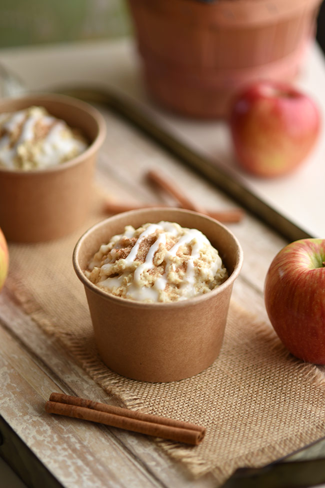 Healthy Cinnamon Apple Minute Muffins