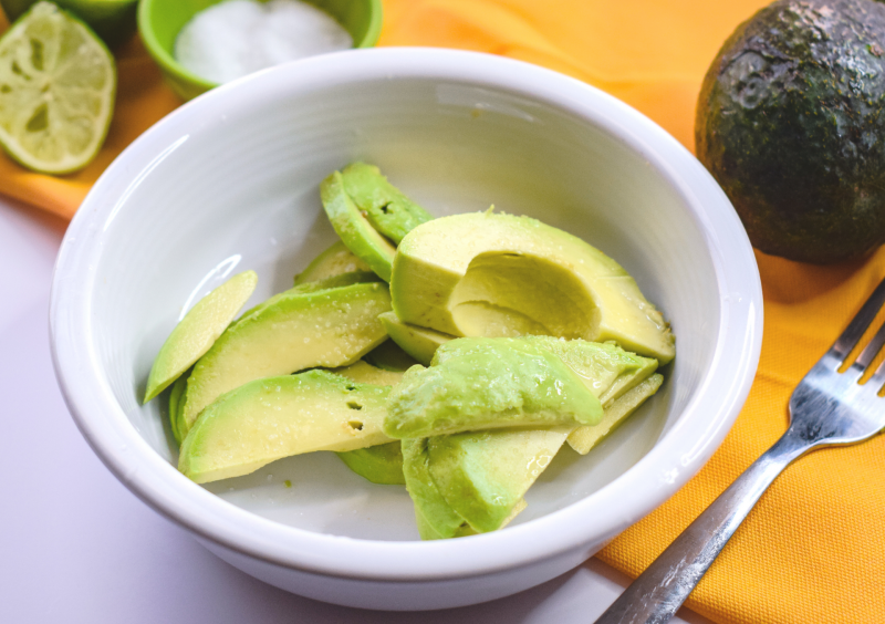 Slices of Avocados for our Super Simple Guacamole