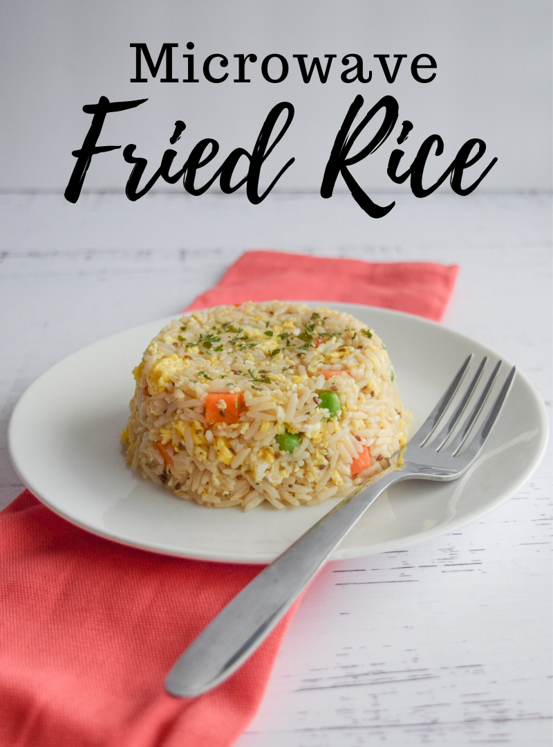 How to make Microwave Fried Rice from scratch!