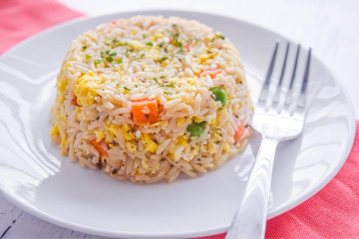 Microwave Fried Rice