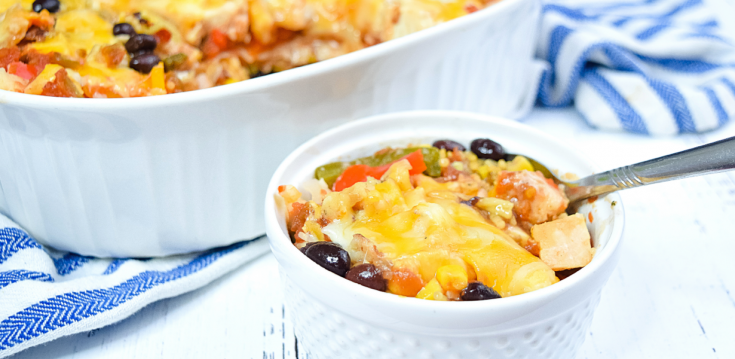 Microwave Mexican Casserole