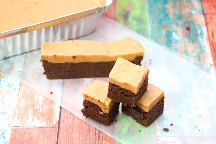 Easy Microwave Buckeye Fudge