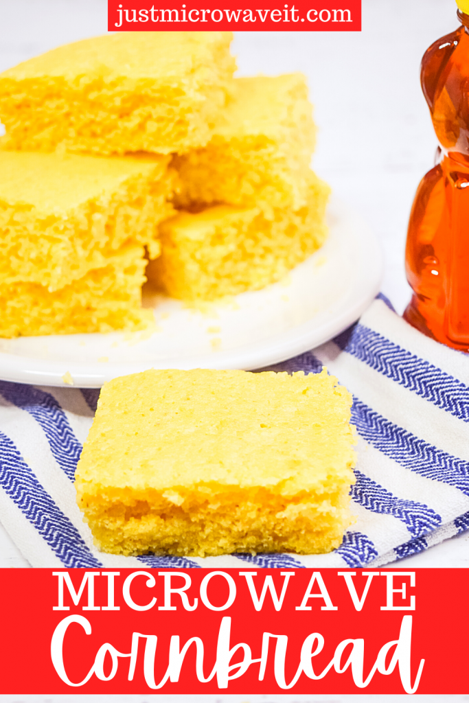 Title image for Microwave Cornbread