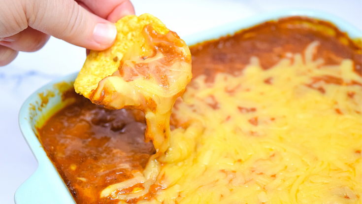 Too Easy Tamale Dip in the Microwave