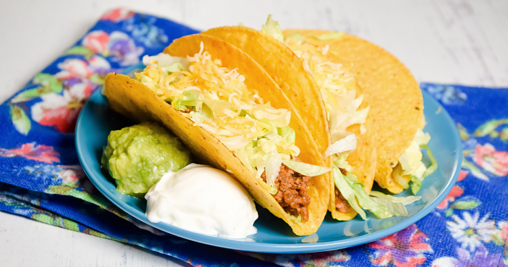 Let's Make Beef Tacos in the Microwave