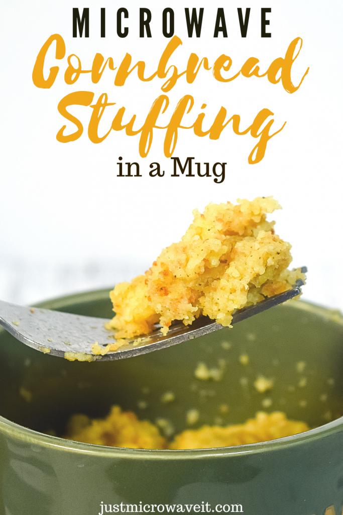 Title image for Cornbread Dressing in a Mug
